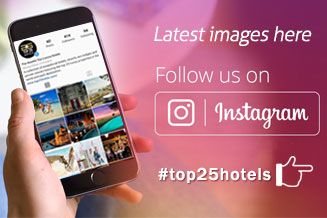 Top 25 Hotels Follow us on Instagram Facebook Twitter
