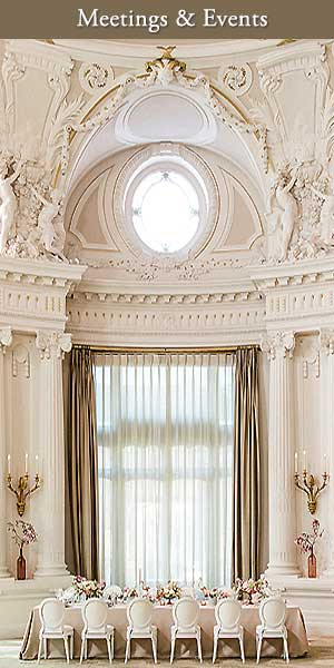 Meetings, Events and Weddings at the Beau Rivage Palace Lausanne Switzerland - Top25Hotels.com - The World's Best Luxury Hotels