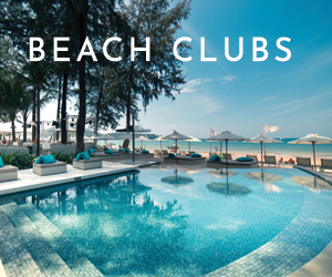 Beach Clubs at Twinpalms MontAzure Phuket Thailand