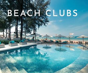 Beach Clubs at Twinpalms Phuket Resort Thailand